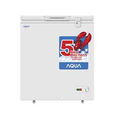 Tủ đông mini Aqua AQF-155EGD 145 lít - Chính hãng Giá rẻ T2/2020