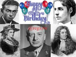 regs wishing happy birthday to famous writers born in july