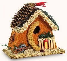 bed breakfast edible birdhouse