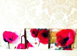 red poppies wall art red poppy wall art