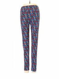 Ebay Pants Size Chart Details About Lularoe Women Blue Cargo Pants One Size