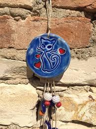 authentic oriental blue cat ceramic