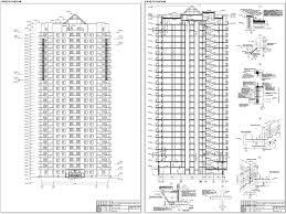Готовые дипломные проекты по строительству Скачать дипломный  С50 25 ти этажный монолитный жилой дом г Хабаровск