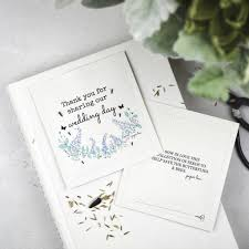 wildflower wedding seed packets with blue flower design
