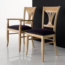 Sedia legno massello seduta in ecopelle o tessuto operetta
