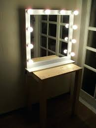 wall mounted lighted mirror wall mounted lighted