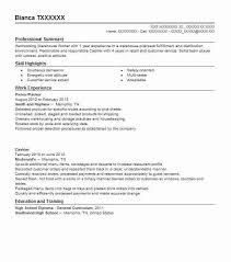 warehouse packer resume