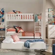 white bunk bed with stairs. Hunter Twin Over White Wood Bunk Bed By INSPIRE Q Junior White Bunk Bed With Stairs