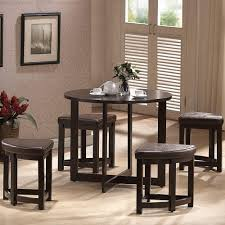 5 Piece Bar Table Set Baxton Studio Rochester 5 Piece Dark Brown Bar Table Set 28862