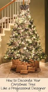 Designer Christmas Decorations Enchanting How To Decorate Your Christmas Tree Like A Professional Designer