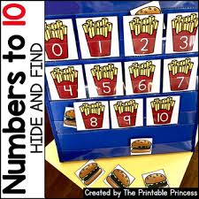 Find The Number Pocket Chart Activities Kindergarten Math Numbers To 10