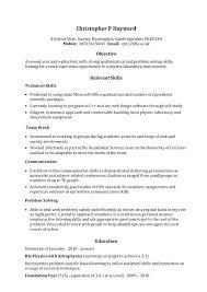 Skills For A Job Resume List Skills For Resume Work Skills Resume