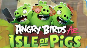 Angry Birds enters a new dimension with the AR game 'Isle of Pigs'