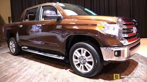 2017 toyota tundra 1794 edition exterior and interior walkaround 2017 toronto auto show