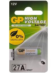<b>Батарейка 27A</b>-BC1 <b>GP</b> 8116365 в интернет-магазине ...