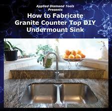 how to fabricate granite countertop dvd cut polish sink