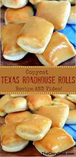these sweet and ery copycat texas roadhouse rolls are just like from the restaurant itself