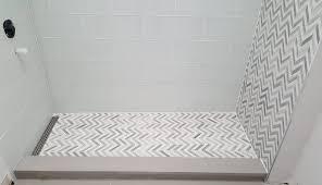material shower base prefab standard corner preformed dreamline for sizes paint options pan walls tile