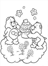 Small Picture Care Bears Coloring Pages Pdf Coloring Coloring Pages