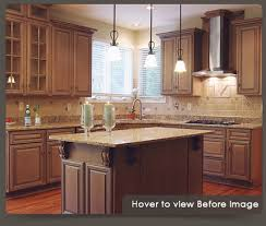 cabinet refacing. Interesting Refacing Before And After Cabinet Refacing For