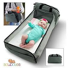 Amazon.com : Scuddles- 3-1| portable bassinet | for baby | Foldable ...