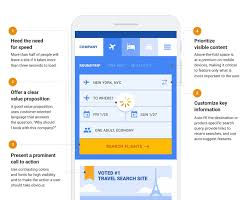 Search Results Page Design Inspiration Effective Mobile Landing Page Design Think With Google