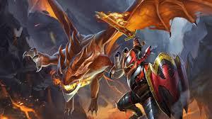 dragon knight dota 2 wallpaper 738 wallpaper themes collectwall com