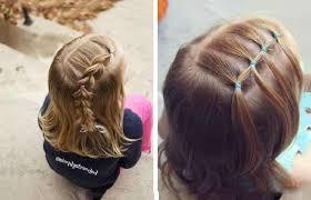 účesy Pro Děti Dívky