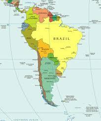 Страны Латинской Америки Карта Латинской Америки