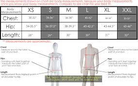 Football Jersey Measurements Kasa Immo