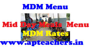 Mdm Menu Mid Day Meals Scheme Menu Day Wise In Schools