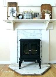 fake fireplace mantel kits ideas how to faux images building a surround