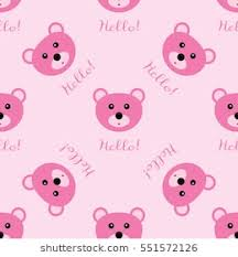pink bed sheet texture.  Bed Seamless Texture Bear Head And The Text Hello Repeating Pink Pattern  Template For Childrenu0027s On Pink Bed Sheet Texture Shutterstock
