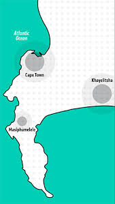 map of cape town and surrounds