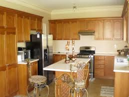 image of kitchen colors for oak cabinets