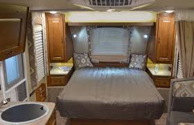 small travel trailers with bathroom. Picture Of Comfortable Bedroom Interior Design For Small Travel Trailers With Bathroom C