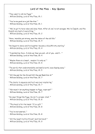 lord of the flies fear quotes quotesgram lord of the flies key quotes by yaofenji