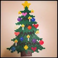 How To Make A Perler Bead Mario Christmas Tree Topper Perler Beads Christmas Tree