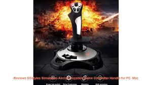 Reviews <b>DSstyles Simulation Aircraft Joystick</b> Game Controller ...