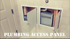 plumbing access panel. Beautiful Access How To Install A Steel Access Panel In Tile With Plumbing Access Panel E
