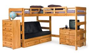 chelsea home lshaped bunk bed  reviews  wayfair