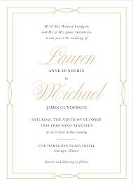 invitations basic invite wedding invitations