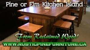 Mennonite Bedroom Furniture Rustic Pine Kitchen Island From Reclaimed Pine Mennonite