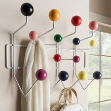Coat Rack Modern Design Simple Ebern Designs Bilokur MidCentury Modern Wall Mounted Coat Rack