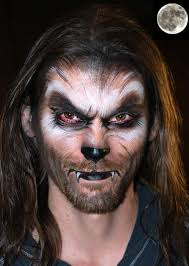 werewolf makeup this isn t a tutorial but the image would be a great starting point for painting werewolf makeup for a man