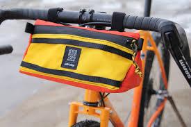 Topo Designs Bike Bag All City Teams Up With Topo Designs For Handlebar Bag