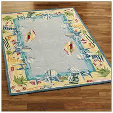 beach themed bathroom rugs