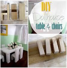 making dollhouse furniture. blog thumbnail diy dollhouse table and chairs making furniture