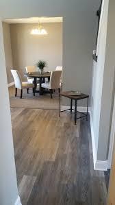 Coretec Alabaster Oak flooring.