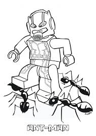 Ant Man Coloring Pages Movies And Tv Show Coloring Pages Lego